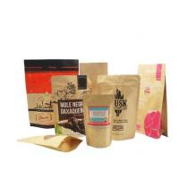Wholesale Moisture-Proof Food Grade Custom Design Kraft Paper Bags For Flour Packaging 1 Kg from china suppliers