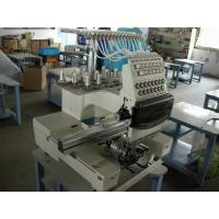 Wholesale Small Business Single Head Embroidery Machine , 12 Needle Embroidery Machine Industrial from china suppliers