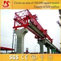 Wholesale 200t level trussed type electric bridge launching crane for high Speed way from china suppliers