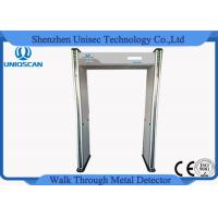 Wholesale Walkthrough Airport Security Metal Detectors Multi Zone Sensitivity With Cctv Camera from china suppliers