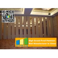 Wholesale Folding Acoustic Movable Partition Walls , Banquet Room Moving Partition Wall from china suppliers
