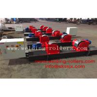 Buy cheap Motor Adjustment Conventional Pipe Welding Rollers 40 Ton Load Capacity from wholesalers