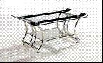 Wholesale coffee table, tempered glass table, wood coffee table, #4001 from china suppliers