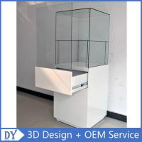 Wholesale Popular 2 Layers Glass Jewellery Display Cabinets With Free 3D Design Service from china suppliers