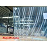 Wholesale 10mm Spandrel silk screen printing on glass ,  enamel / Ceramic frit glass from china suppliers