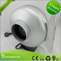 China Galvanised Sheet Steel Air Duct Booster Fan Insulation Class F The Wood Shop on sale