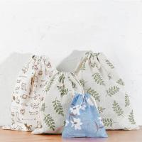 Buy cheap Travel Storage Bag Reusable Cute Pattern Printed Drawstring Backpack Bag from wholesalers