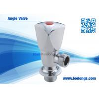 Wholesale 1/2 inch Zinc Angle Valve Chromed With Zinc Triangle Handle from china suppliers