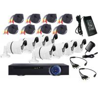 Wholesale Wall Mount HD DVR Kit 8 Channel Dvr Camera System SATA HDD Recording from china suppliers