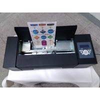 Wholesale A4 Size Paper Sticker Cutter Auto Feeding System For Food/Wine Labels Making from china suppliers