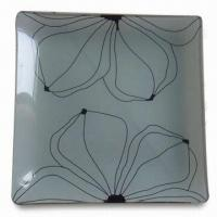 Wholesale Fruit Plate with Square Shape, Can Print Customer's Designs, Available in Various Sizes from china suppliers