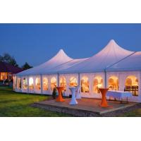 Wholesale Waterproof High Peak Tent , Outdoor Marriage Decoration Wedding Tent from china suppliers