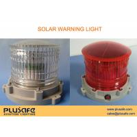 Buy cheap Marine Aids Solar Powered Warning Light 200 Hours Flashing for Dock Lighting from wholesalers
