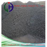 Dark Solid Modified Coal Tar Pitch Softening Point 112 - 118°C As Binder Material