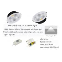 Reccessed light 15W Home / Kitchen COB Downlights With CE / RoHS Certificate