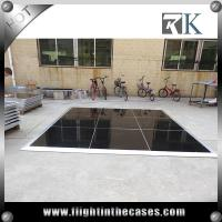 Wholesale Portable dance floor/pvc dance floor material video dance floor with aluminum edges from china suppliers