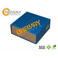 Wholesale Printed Packaging Boxes , Custom Printed Packing Boxes with Flat Packing from china suppliers