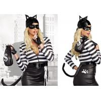Wholesale Woman Sexy cosplay halloween costume , Cat Burglar Party adult princess costume from china suppliers