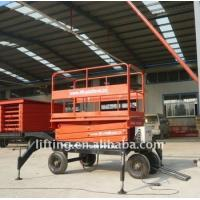 Wholesale 1000kgs 3000kg Electric scissor lift platform with diesel / electrical power from china suppliers