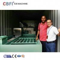 Buy cheap Commercial Containerized Block Ice Machine Big Containerized Block Ice Plant from wholesalers