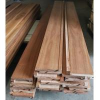 Buy cheap Australian Spotted Gum solid stair nosing, both smooth and brushed surface are available from wholesalers