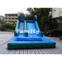 Wholesale Large Car 0.55mm PVC Tarpaulin Inflatable Toys Dry Slide for Fun Games from china suppliers