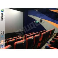 Quality Large Screen Full HD 3D Movie Theater 3D Cinema System With 120 Seats Holiding 120 People for sale