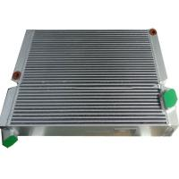 Wholesale Plate Aluminum Air Compressor Oil Cooler , Compressed Hydraulic Oil Cooler Radiator from china suppliers