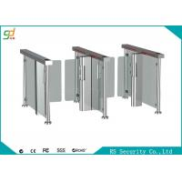 Wholesale Fingerprint Rfid Supermarket Swing Gate Semi Automatic  High Security Turnstile from china suppliers