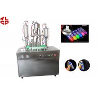 Wholesale Snow Sprays / Party Strings Semi Automatic Aerosol Filling Machine In Party , Wedding , Festival from china suppliers