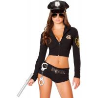 Buy cheap High Quality Halloween Sexy Police Costumes Hottie for Party Adult Fancy Dress from wholesalers