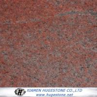 Buy cheap Hubei Multicolour Red Granite Tiles, China Red Granite Slabs. from wholesalers