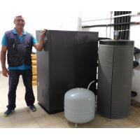 Wholesale 20.4kw EER4.7 COP5.13 Geothermal Ground Source Heat Pump for 7℃ - 60℃ Water outlet from china suppliers