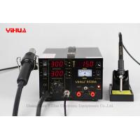 Wholesale 3in1 Display Digital Soldering Station , 853DA Hot Air Rework Station from china suppliers