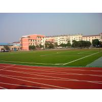 Wholesale Red Synthetic Soccer Grass / Football Artificial Turf With SGS REACH from china suppliers