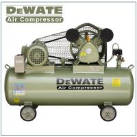 China Single Phase Portable Air Compressor With Tank 100 L on sale