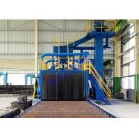 Wholesale Continuous Conveyor Auto Wheel Blast Equipment For Round Steel Bar from china suppliers