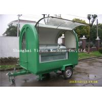 Wholesale Steel Mould Construction Portable Food Carts With Towable Trailer from china suppliers