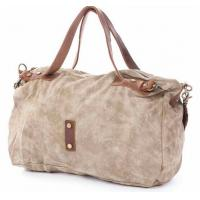 Wholesale vintage hobo bags in canvas patchwork with leather for men and women from china suppliers