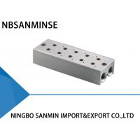 Wholesale ISO Certification Pneumatic Solenoid Valve Parts Manifold Base One Year Guarantee from china suppliers