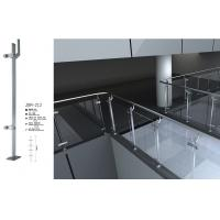 Buy cheap Pre-Assembled Stainless Steel Glass Railing ISO9001 manufacturer from wholesalers