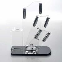 Wholesale Transparent acrylic store displays / acrylic kitchen knife holder from china suppliers