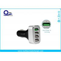 Buy cheap Multiple Usb Automobile Charger with 4 Ports for Samsung Galaxy S7 S6 Edge S8 from wholesalers