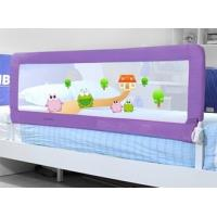 Wholesale King Size Childrens Bed Guards Foldable , Purple Twin Bed Rail from china suppliers