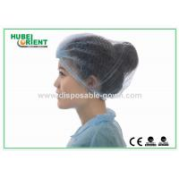 Disposable Head Cap Surgical Mob Cap for Hospital / Health Center