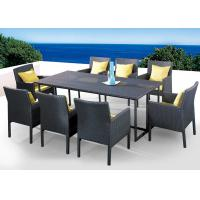 Wholesale PE rattan furniture, garden furniture, dining table dining chair, #1204 from china suppliers