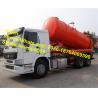 Buy cheap 15000L/15m3 Sinotruk Howo EuroII Sewage Pump Truck Vacuum Truck from wholesalers