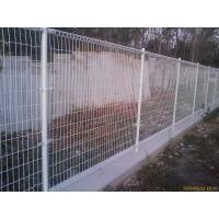 Wholesale Customized Galvanized Steel Fence Double Lap Idyllic Fence Foreground 3.0 - 6.0mm from china suppliers