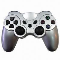 Wholesale Wireless Gamepad/Controller with Dual Vibration Shock Feedback and 12 Analog Buttons from china suppliers