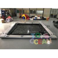 Buy cheap Commerical Gaint Inflatable Water Floating Sea Pool With Net For Yacht from wholesalers